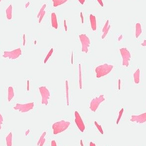 light pink daubs painted dots paint blobs