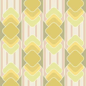 seventies abstract stripes