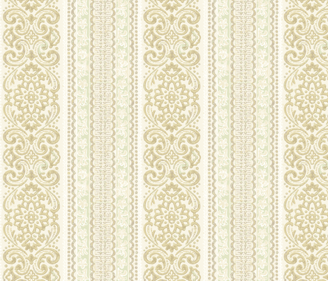 Forties dab stripe fabric by hannafate on Spoonflower - custom fabric