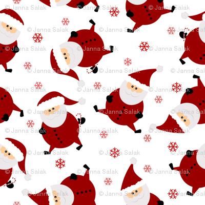 Tiny Santas