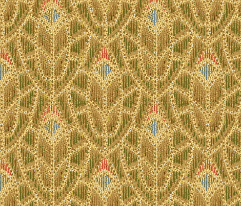 40s dab print fabric by hannafate on Spoonflower - custom fabric