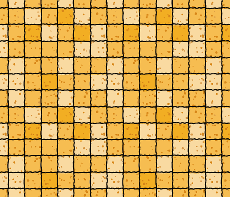 waxzycheck fabric by hannafate on Spoonflower - custom fabric