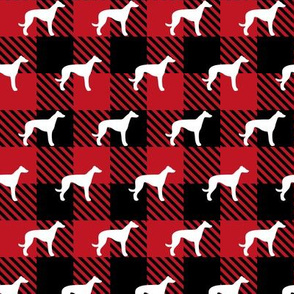 Greyhound Buffalo Plaid