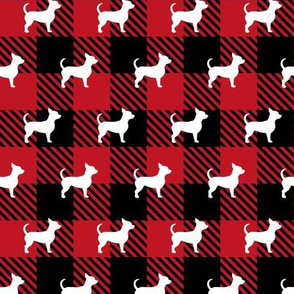 Chihuahua Buffalo Plaid