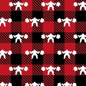 Sasquat Buffalo Plaid