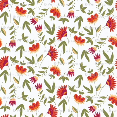 Rustic Fall Floral