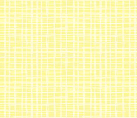 Yellow Plaid fabric by scarlette_soleil on Spoonflower - custom fabric