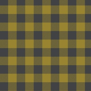 free spirit - buffalo check-olive
