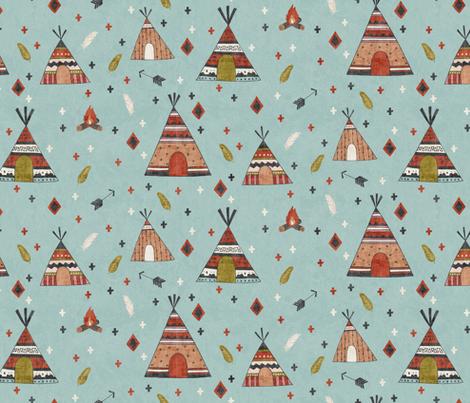 Free  Spirit fabric by scarlette_soleil on Spoonflower - custom fabric