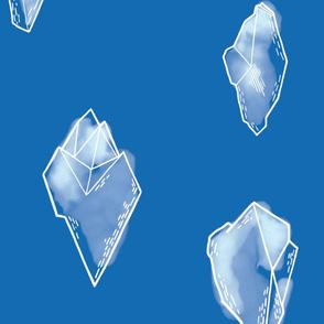 Polar Gems /  blue