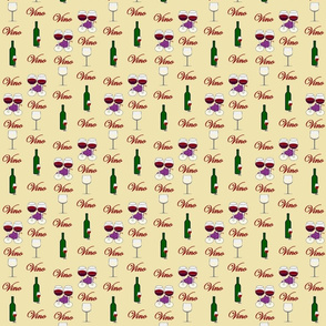 Wine Fabric Butter Small