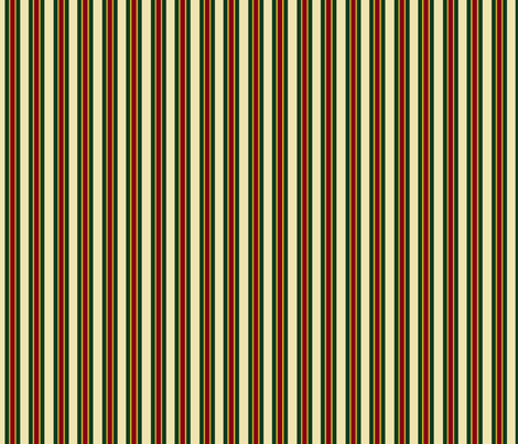 Wine Butter Coordinating Stripe _2 fabric by hobbitrosie on Spoonflower - custom fabric