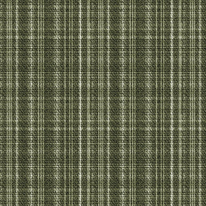 Tweed Plaid dark olive green
