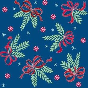 Jellybean pine ornaments (peacock)