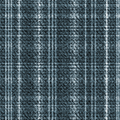 Tweed Plaid Teal Blue