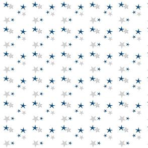 stars 35 - navy gray