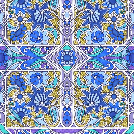 Diamond Square Spring fabric by edsel2084 on Spoonflower - custom fabric