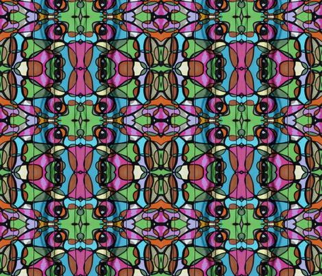valparaiso 1 fabric by hypersphere on Spoonflower - custom fabric