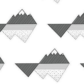 Tectonic Mountain Peaks