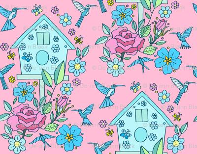 Birdhouse, Pink