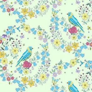 Rose Bird, Green