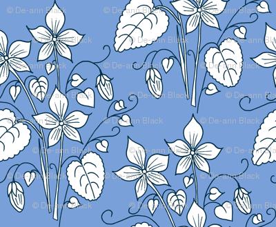 Violets, Blue