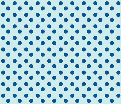 polka dots 2x2 med - seaglass ocean fabric by drapestudio on Spoonflower - custom fabric
