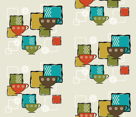 happiness danish style - hygge fabric by violetmalu on Spoonflower - custom fabric