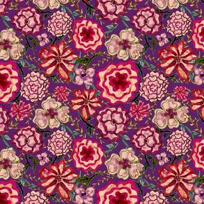 Raspberry Floral