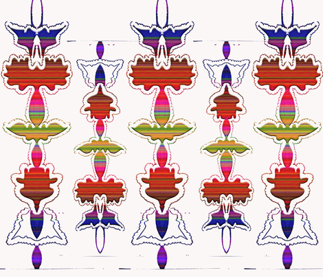 totem fabric by beverly_brill on Spoonflower - custom fabric