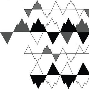Geometric Peaks & Gaps