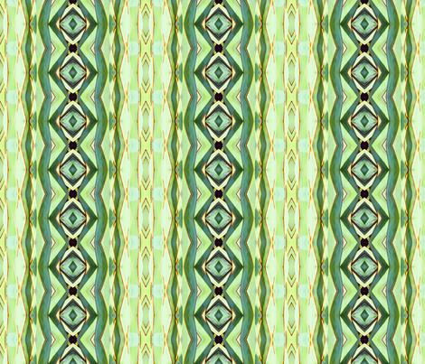 Cactus Kaleidescope fabric by longwayhome on Spoonflower - custom fabric