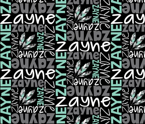 Zayne-spiral-mixed-fonts-4col-black-and-grey-black_shop_preview