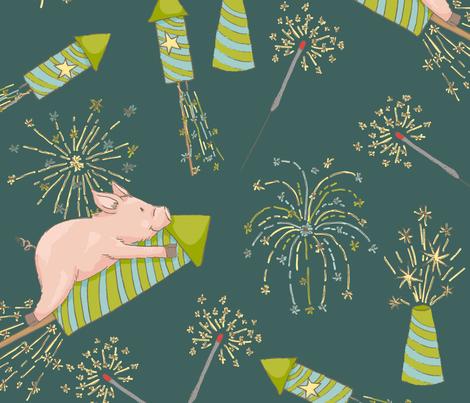 HappyNewYear 5 fabric ...