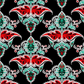 Holiday Damask