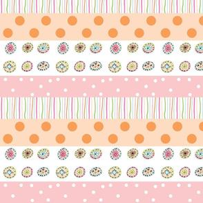 Little Treats Quilt - 46 pink