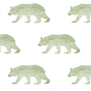 Bear Down // Textured Green