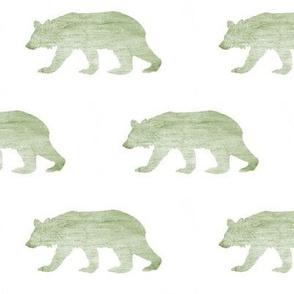 Bear Down // Textured Green