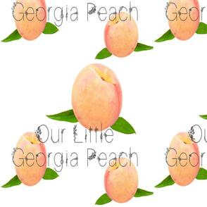 our little Georgia Peach