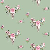 Boho_skull_and_pink_poppies_on_sage_copy_shop_thumb