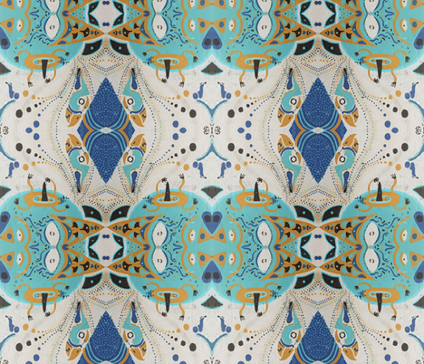 valparaiso 9 fabric by hypersphere on Spoonflower - custom fabric