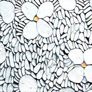 flower pebbles