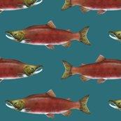 Sockeye_salmon_on_2c6d77_deep_teal_green_fix_shop_thumb