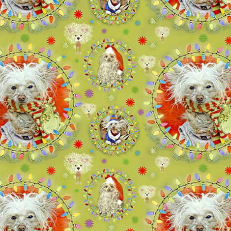 Gilligan Tacky Christmas fabric by kclud39 on Spoonflower - custom fabric