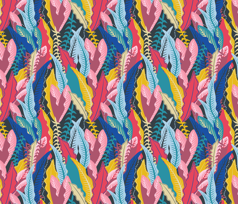 Inner Jungle fabric by wehavecolour on Spoonflower - custom fabric