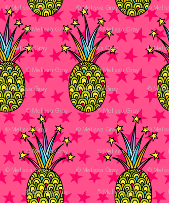 Party Pineapple: Vivid