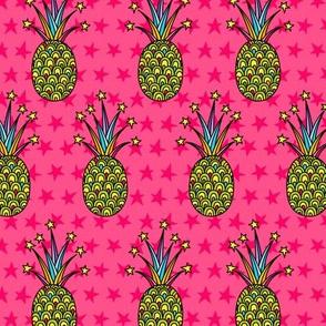 Party Pineapple: Vivid