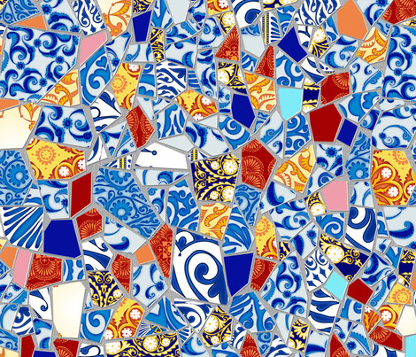 Broken fabric by spellstone on Spoonflower - custom fabric