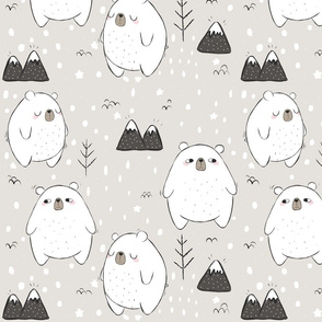 Just Another Beary Cute Pattern