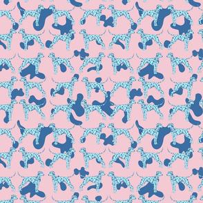 Blue Dalmatian Dogs
